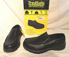 TREDSAFE MANON, MENS SLIP-ON WORK SHOES, SIZES 7.5,8,8.5,9,9.5,10,10.5,11,12,13