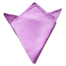 Hot Men's Pocket Square Fashion Wedding Party Kerchief Solid Color Handkerchief