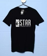 Inspired By The Flash - Star Laboratories T Shirt - 8Ball T Shirts