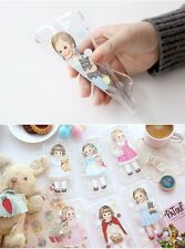 """""""Paper doll mate"""" Afrocat Cute Jelly Phone Case for iPhone 6,6s/6+,6s+/7/7+"""