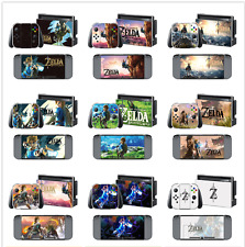 Game Case Skins Vinyl Decals Sticker for Nintendo Switch Console + Controller~