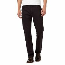 Rjr.John Rocha Mens Black Twisted Fit Trousers From Debenhams