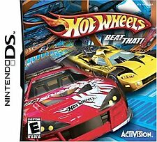 Hot Wheels: Beat That!  Nintendo DS with Case and Instruction Booklet