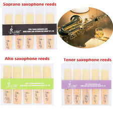 10pcs High Quality Soprano/Alto/Tenor Saxophone Reeds Reed 2.5 Strength 2 1:2 UK