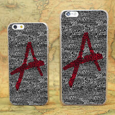Pretty Little Liars hard transparent clear Skin Cover Case for Apple iPhone