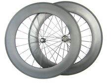 88mm depth carbon wheel 20.5 width 700C carbon fiber clincher wheel set bicycle