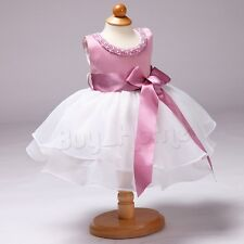 Pearl Girl Princess Dress Kid Baby Party Wedding Pageant Formal Dresses Clothes