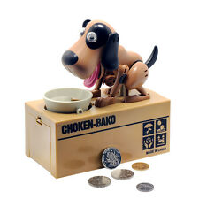 Bank Piggy Coin Money Box Saving Jar Counting Dog Digital Electronic Vintage New