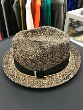 NEW Bailey Of Hollywood Mens Romeo 81704 Raffia Straw Spring Summer Fedora Hat