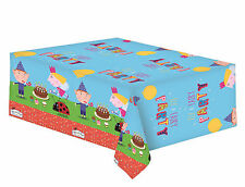 Ben & Holly Gaston Elf & Fairy Plastic Party Tablecover Tablecloth 1-5pk