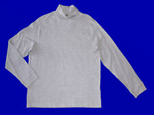 Men's Turtleneck Sweater Ski Jumper light grey Size M-XXL 48-62NEU
