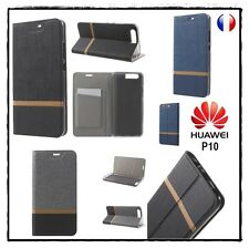 Etui porte-carte coque housse card holder Wallet Cover case Huawei P10