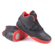 NWOB MENS Supra S04110 ESTABAN BLACK / RED Skate Sneaker Shoes SZ 8.5 9 9.5