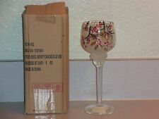 Yankee Candle Stem Crackle Berry Tea Light Votive Holder NWT