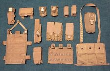 FSBE Pouch Lot, Allied Eagle Industries, Mag,45, MBITR, Flare, TQ, 3 Mag, Coyote