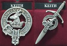 Keith Scottish Clan Crest Badge or Kilt Pin Ships free in US