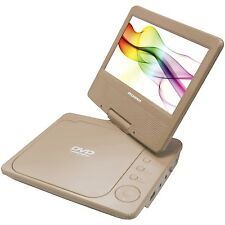 "SYLVANIA SDVD7027-C-GOLD  7"" Swivel-Screen Portable DVD Player (Gold)"