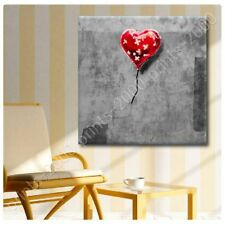 POSTER Or STICKER Decals Vinyl Balloon Heart Plaster Banksy Wall Art Posters