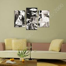 Alonline Art - POSTER Or STICKER Decals Vinyl Guernica Pablo Picasso 3 Panels