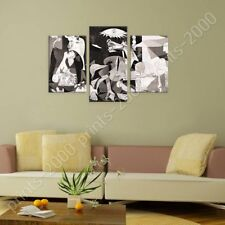POSTER Or STICKER Decals Vinyl Guernica Pablo Picasso 3 Panels Artwork Posters