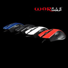 Gaming Mouse Wired USB 4 Buttons 1600DPI High Precision Optical Gamer Mouse GN