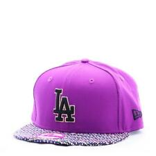 NE0128, New Era Cap – 9fifty Mlb Wmns Lic022 Los Angeles Dodgers purple/multicol