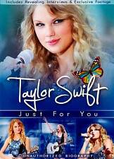Taylor Swift: Just for You - Unauthorized Biography  (DVD, 2011)