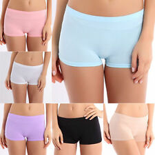 NEW LADIES WOMEN GIRL STRETCHY SEXY HOT PANTS SHORTS DANCE GYM PARTY Solid Color