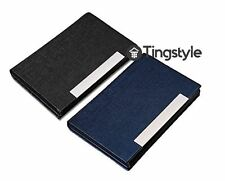 Professional Business Name, ID, Credit Card Holder Wallet Case (2 Packs)