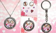 6-8pcs Happy MOTHERS DAY Personalised Custom Memory Floating Locket Charms Photo
