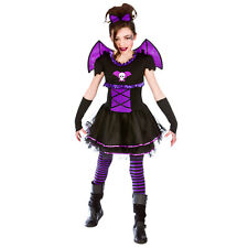 Ladies Batty Ballerina Fancy Dress Costume for Bat Vampire Cosplay Outfit