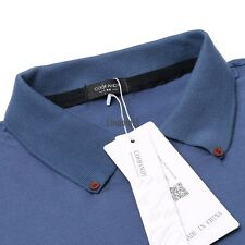 Men's Turn Down Collar Long Sleeve Solid Slim Fit Casual Polo Shirt Tops LM01