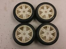 Proline Sniper 9035 1/8 Buggy Tires White Wheels 17mm Hex Associated Losi