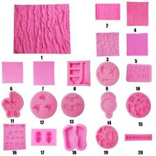 Various Silicone Cake Soap Sugarcraft Mould Decorating Chocolate Jelly DIY Mold