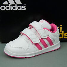 Adidas LK Trainer 6 CF I Baby shoes Kids shoes Trainers White/Pink B40561