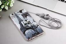 3In1 360 Rotary Stand Eiffel Tower TPU Soft Back Case For Oppo Galaxy Huawei