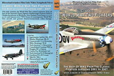 Classic World War Two Fighters  (WW2 Aircraft on DVD or BluRay)