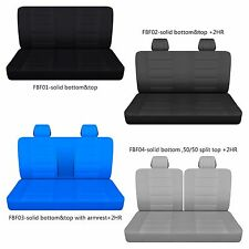 AFCC Ford f 150-250-350 cotton front bench truck seat cover choose COLOR+STYLE