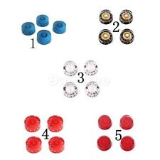 4pcs Guitar Speed Control Knob with Numbers Print For LP Electric Guitar Parts