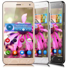 "5.0"" Cheap Unlocked Android Cell Smart Phone Quad Core Dual SIM 3G GSM GPS WIFI"