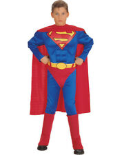 Superman Deluxe Muscle Chest Boys Costume