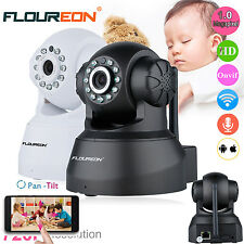 FLOUREON Wireless WiFi IP Camera HD 720P Home Security Network CCTV Night Vision