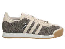 NEW MENS ADIDAS ORIGINALS SAMOA CASUAL SHOES LEATHER TRAINERS CLEAR BROWN / CLEA