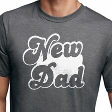 New Dad Men's T-Shirt cool tshirt designs Dad Gift funny tees Father's Day Gift
