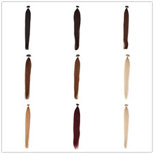 """Fashion Straight Remy 100% Real Human Hair Extensions Stick Tip 18""""-24"""" 50g0.5g"""