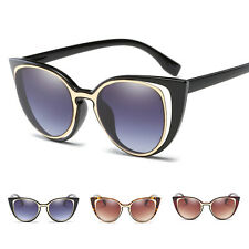 Cat Eye Womens Fashion Vintage Retro Designer Sunglasses Eyewear Eye Glasses New
