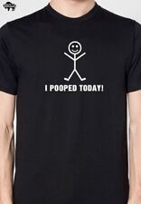 I Pooped Today Men's T-Shirt cool tshirt designs funny tees graphic tee