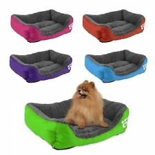 Pet Dog Cat Bed Cushion House Pet Soft Warm Kennel Dog Mat Blanket 5 Colors ZP