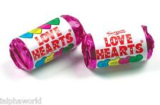 * Mini Love Hearts   Retro Rolls Party Bag Wedding Sweets Candy Chewy Sweets