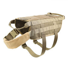Tactical Outdoor Military Dog Clothes Adjustable Load Bearing Vest Harness Army